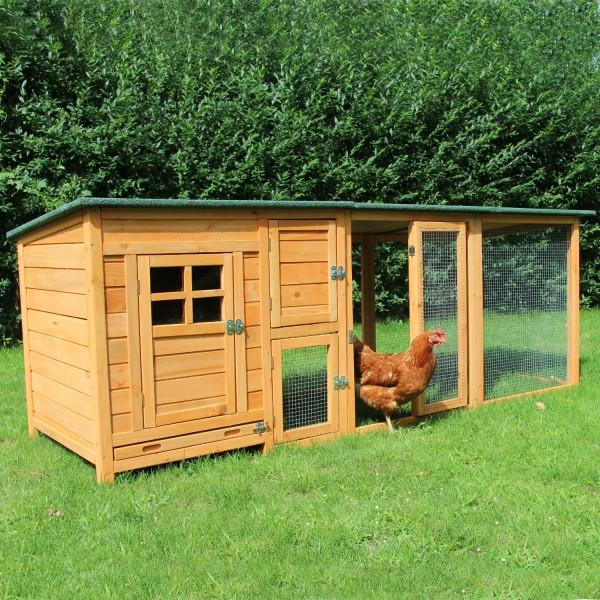 Hühnerhaus Paula - mit extra Auslauf